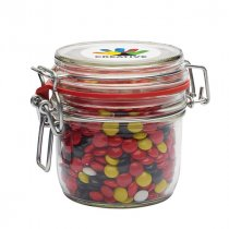 125ml glass jar with a choice of sweets