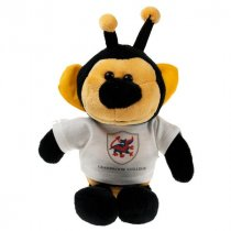 30cm Soft toy bee wearing a T-Shirt