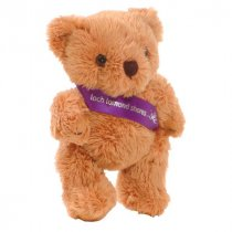 5 inch Rusty bear wearing a sash