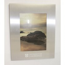 7 x 5Inch brushed aluminium photo frame