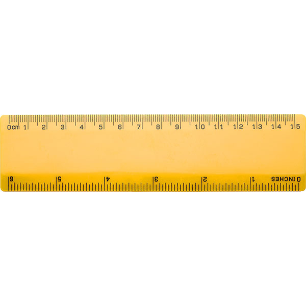 Basic 6 inch / 150mm ruler