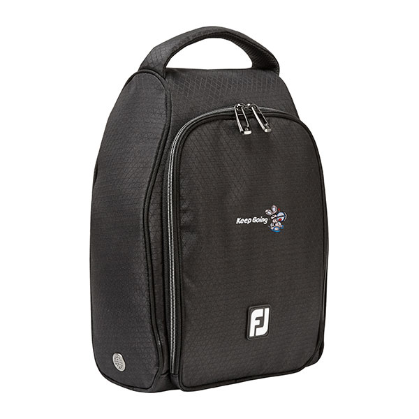 Black footjoy shoe bag
