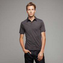 Canvas Jersey 5 Button Polo