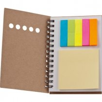 Card wiro bound note book