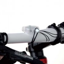 Compact bicycle light set