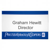 Conference name badge