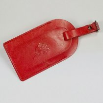Darwin PU luggage tag