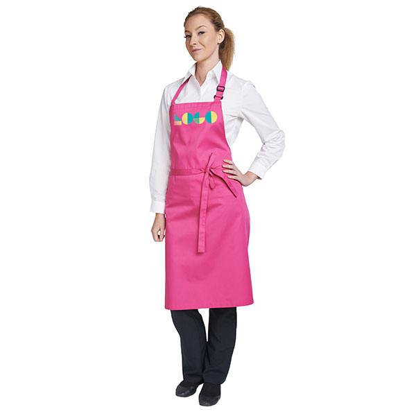 Dennys Multicoloured Bib Apron 28 x 36