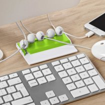 Desk cable organiser