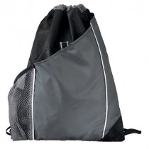 DISCONTINUED Sidecar drawstring backpack
