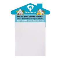 Fridge magnet sticky notepad