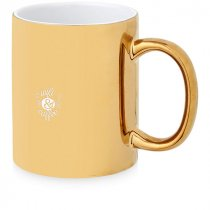 Gleam lustre ceramic mug