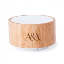 Bamboo Bluetooth® drum speaker