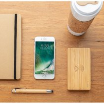 XD Design bamboo wireless powerbank