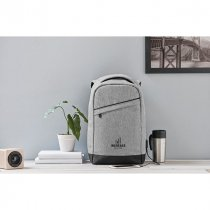 600D two tone backpack