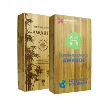 40mm thick Moso bamboo award