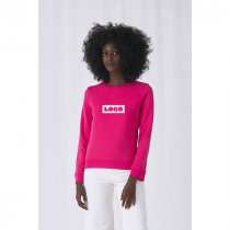 B&C Womens Organic Crew Neck Sweat