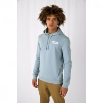 B&C Mens Organic Hooded Sweat
