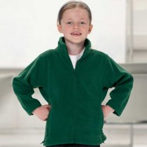 Jerzees Schoolgear Childrens Full Zip Outdoor Fleece