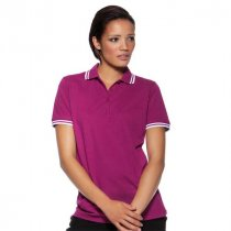Kustom Kit Ladies Tipped Collar Polo