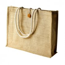 Large deluxe jute bag