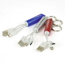 Light up charger and key ring