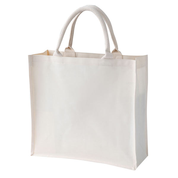 Luxury laminated canvas bag
