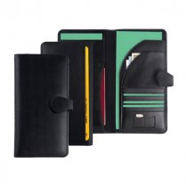 Malvern leather travel wallet