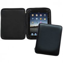 Malvern leather zipped iPad case