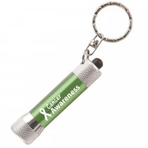 McQueen LED torch key ring