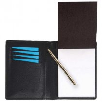 Melbourne leather notepad holder