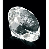 Optical crystal 80mm diamond