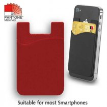 Practical silicone phone wallet