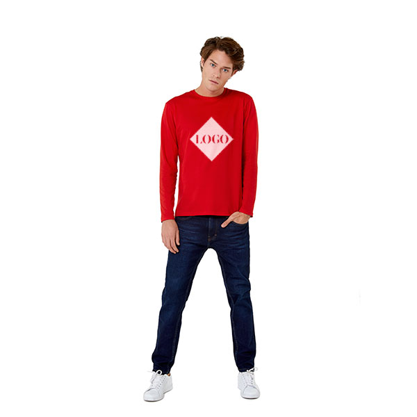 B&C E150 long sleeved T-shirt