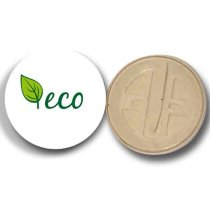 Compostable badges