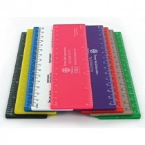 Remarkable recycled CD Case 12inch / 300mm flat ruler