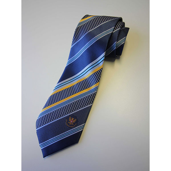 100% Polyester Jacquard woven tie