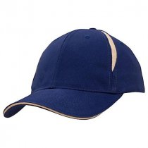 Fulham structured 6 panel low profile baseball cap