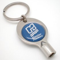 Radiator key with key chain
