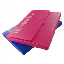 Recycled polypropylene A4 document wallet