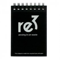 Recycled polypropylene A7 Notepad
