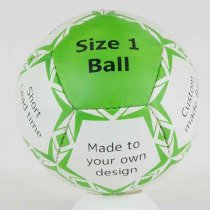 Size 1 promotional football