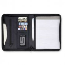 Sports Ranger A5 zip around conference folder complete with lined note pad