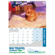 Traditional A2 portrait wall calendar
