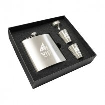 Troyes hip flask set