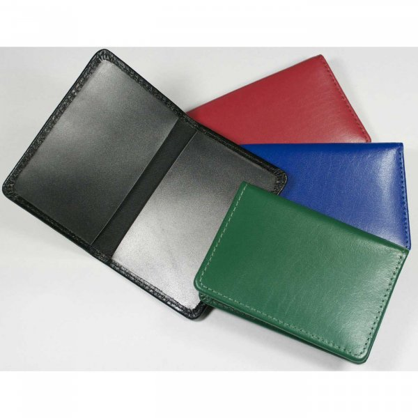 Warwick leather oyster card holder