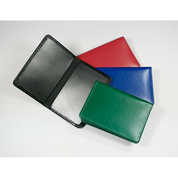 Warwick leather travel card holder